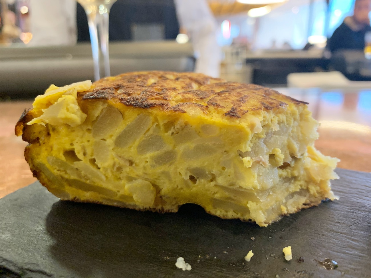 a spanish omelette