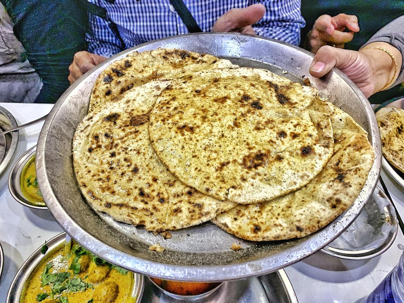 Missi Rotis at Prem Pavitra Bhojanalya