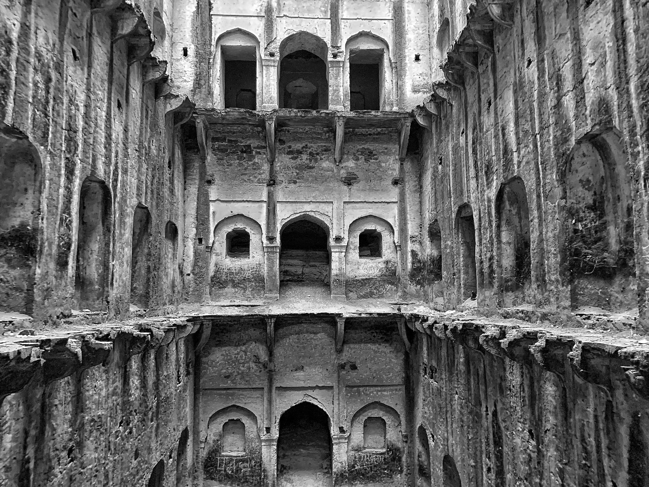 architecturally brilliant - neemrana stepwell
