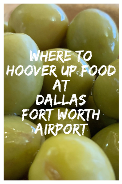 Best Places to Eat at Dallas Fort-Worth Airport #America #Dallas #Airport #Restaurants