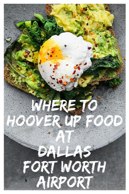 Best Restaurants at Dallas Fort-Worth Airport #Food #Dallas #Airport #America