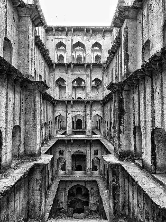 the mysterious neemrana stepwell
