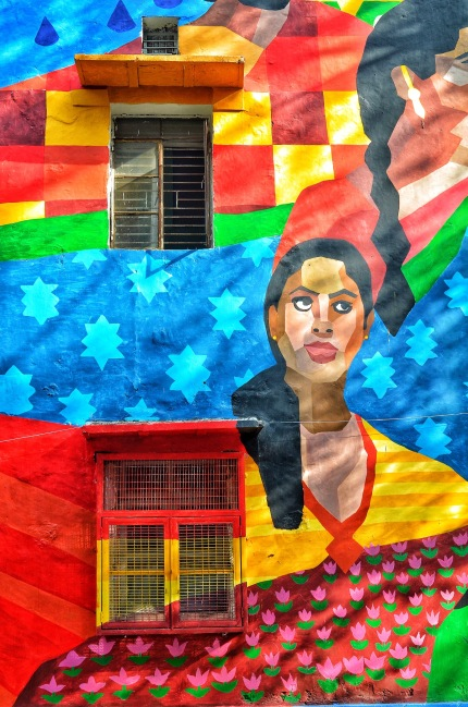 Art With A Cause at The Delhi Street Art Festival