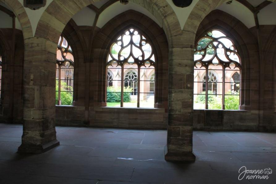 Basel munster cloister