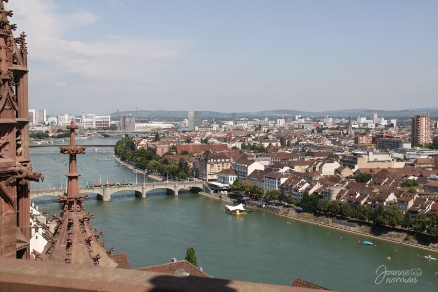 Basel view from Munster
