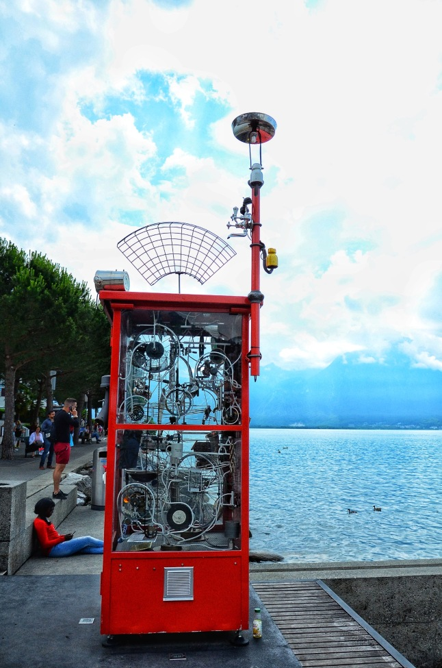 Charles Morgan interactive art in Montreux