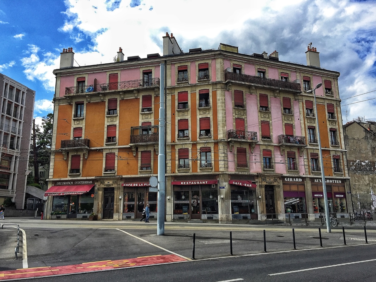 Colourful Building in Geneva