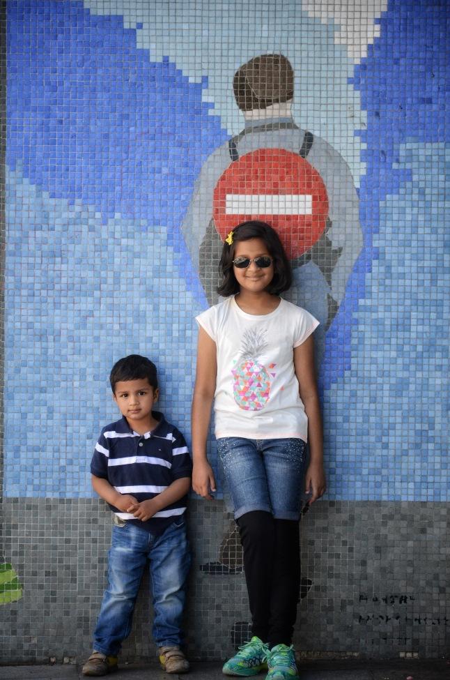 Evian Street Art