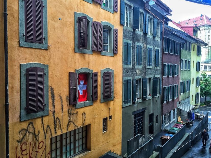 Grafitti in Lausanne