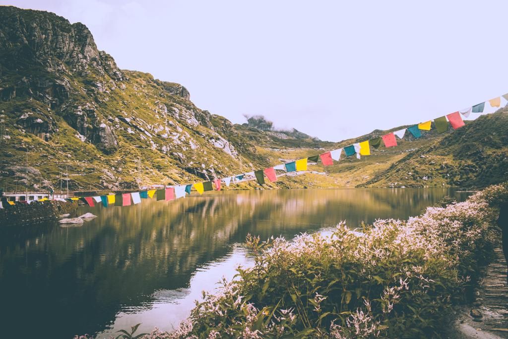 In Heaven -Tsomgo Lake