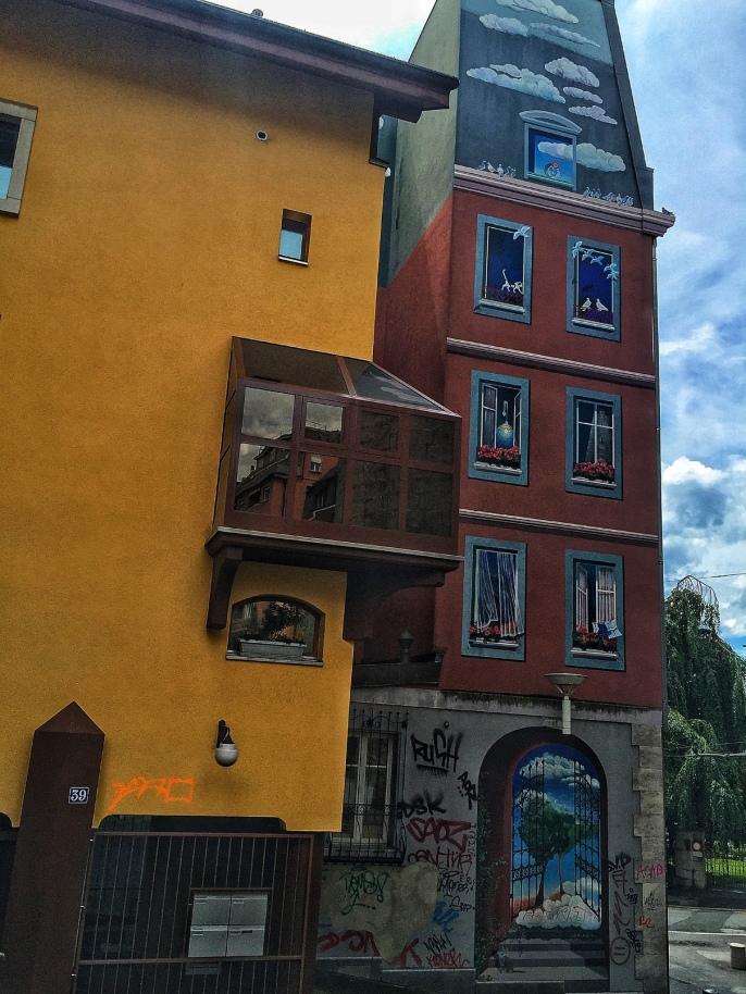 Street Art in Lausanne