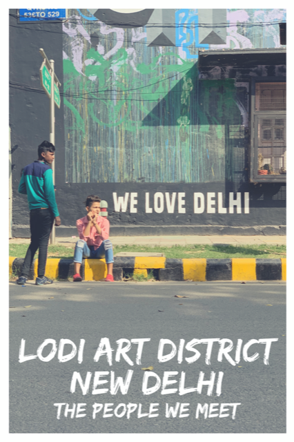 Street Photography at Lodi Art District #NewDelhi #StreetArt #People #Travel