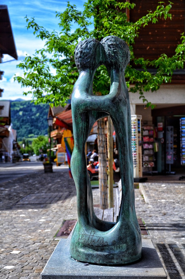 Street Sculptures in Gstaad