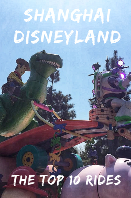 The Top 10 Rides at Shanghai Disneyland #Travel #China #Disney