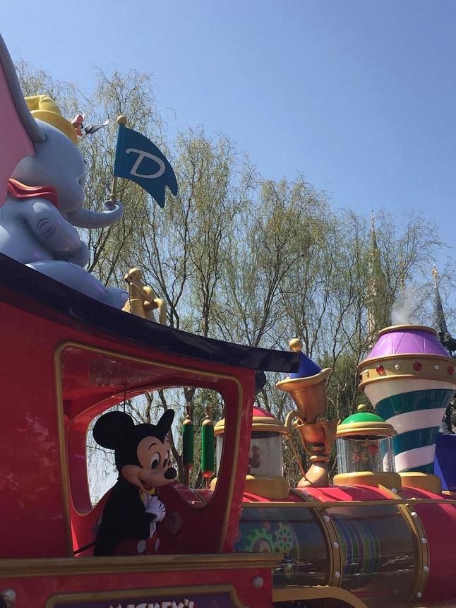 Mickey Mouse at Shanghai Disney