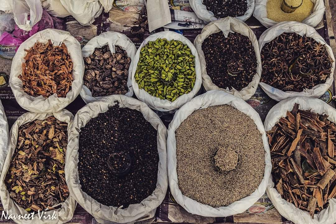 Spices at Choz Bazaar, Delhi