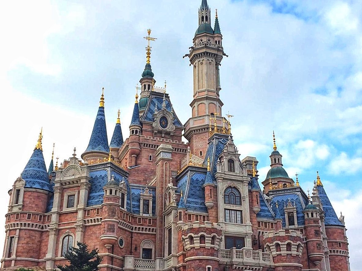 The Castle at Shanghai Disney
