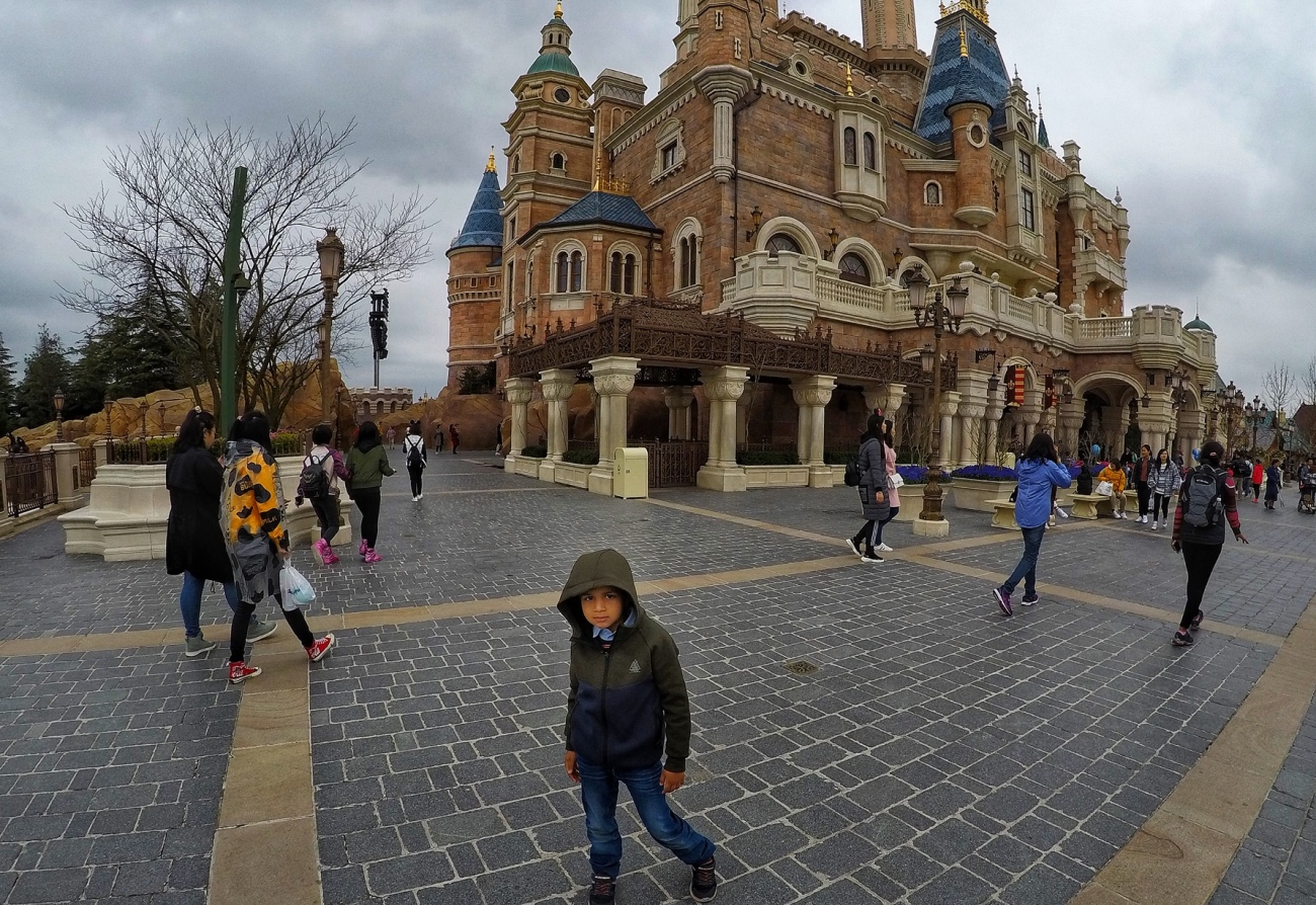 Lots of Walking in Disneyland Shanghai