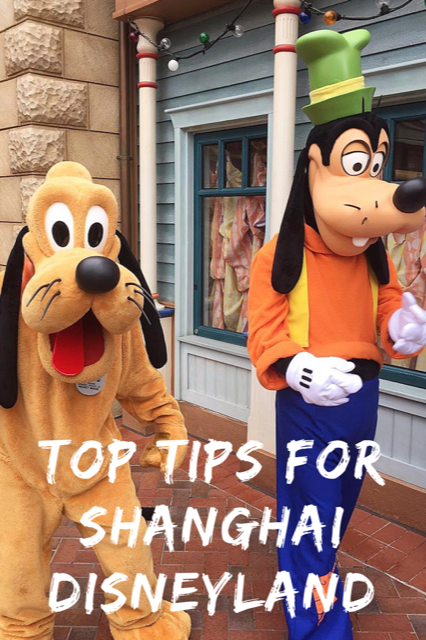 Top Tips for Shanghai Disneyland #Travel #Disneyland #China #Shanghai