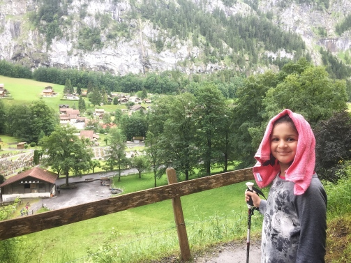 A Hike Up the Staubbach Fall in Lauterbrunnen