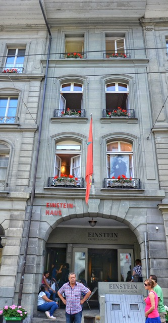 Einstein's House in Bern Switzerland