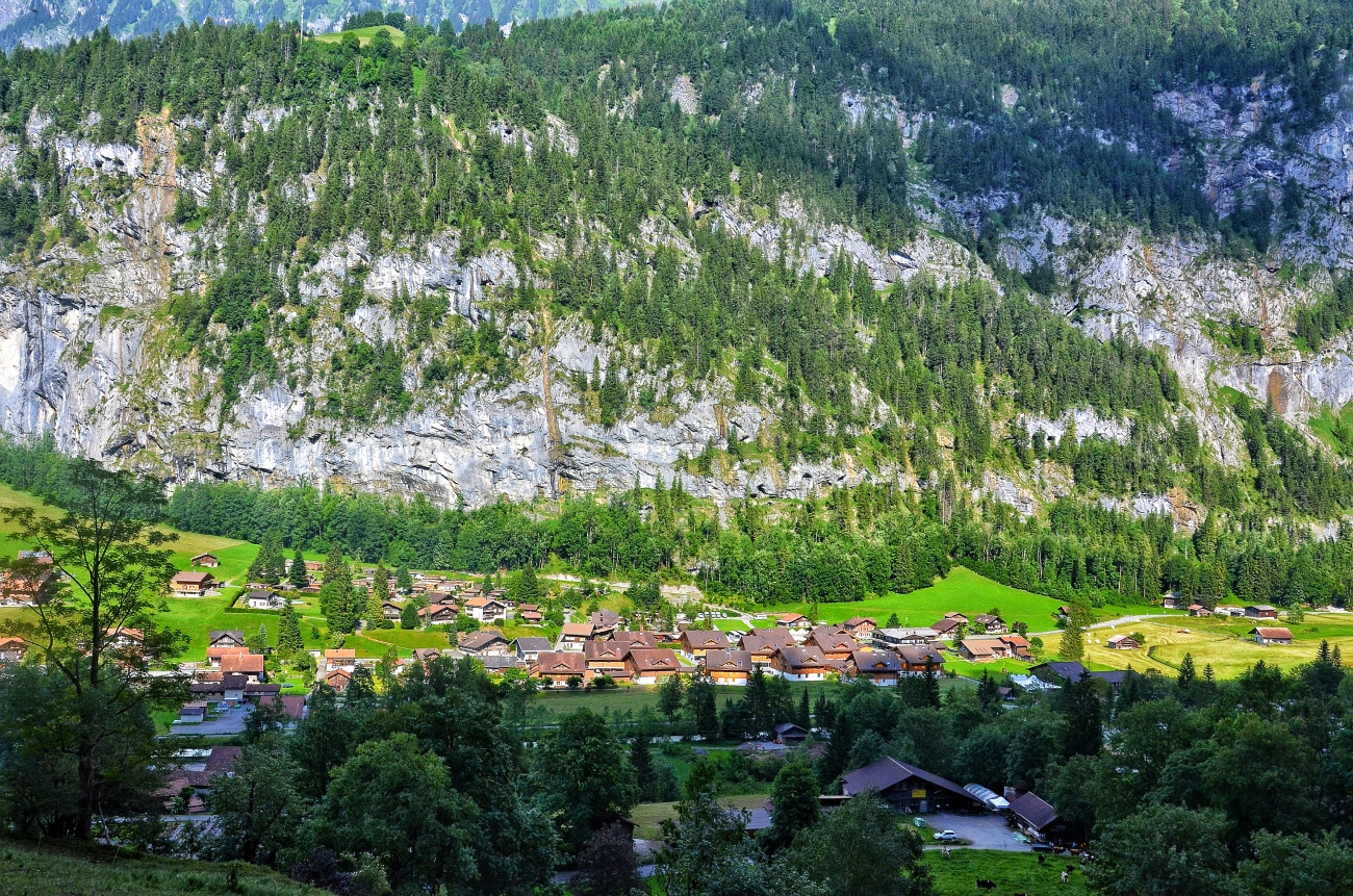 How Green is my Valley - Lauterbrunnen