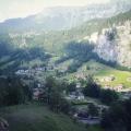 Lauterbrunnen as Seen from Staubbach Fall