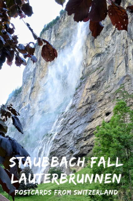 Staubbach Fall, Lauterbrunnen, Switzerland #Nature #Switzerland #Lauterbrunnen