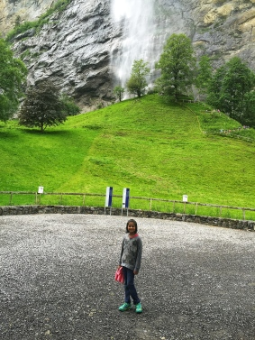 The Staubbach Fall in Lauterbrunnen