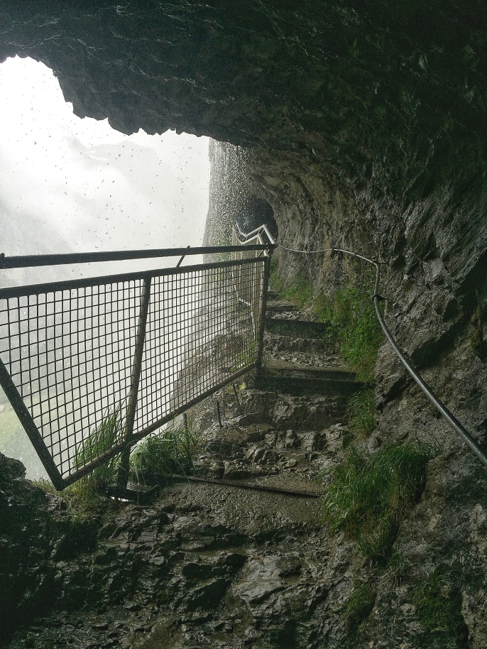 The Viewing Area - Staubbach Fall, Lauterbrunnen