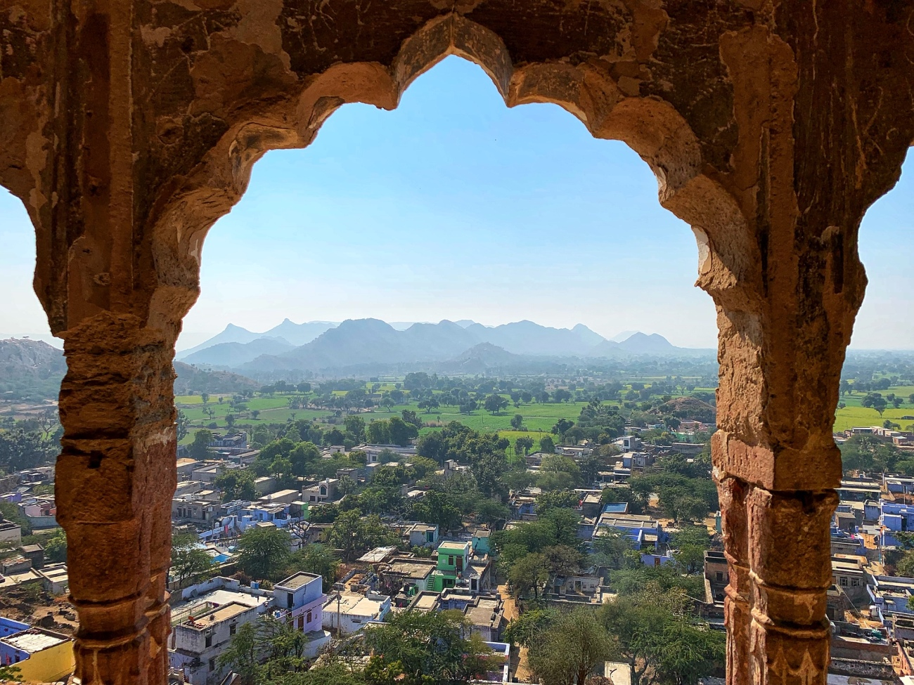 Panoramic Views from Qila Tatarpur