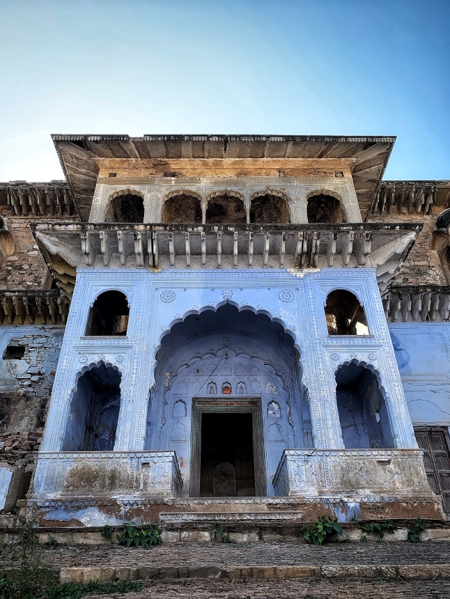 The Grand Blue Doorway - Tatarpur Fort
