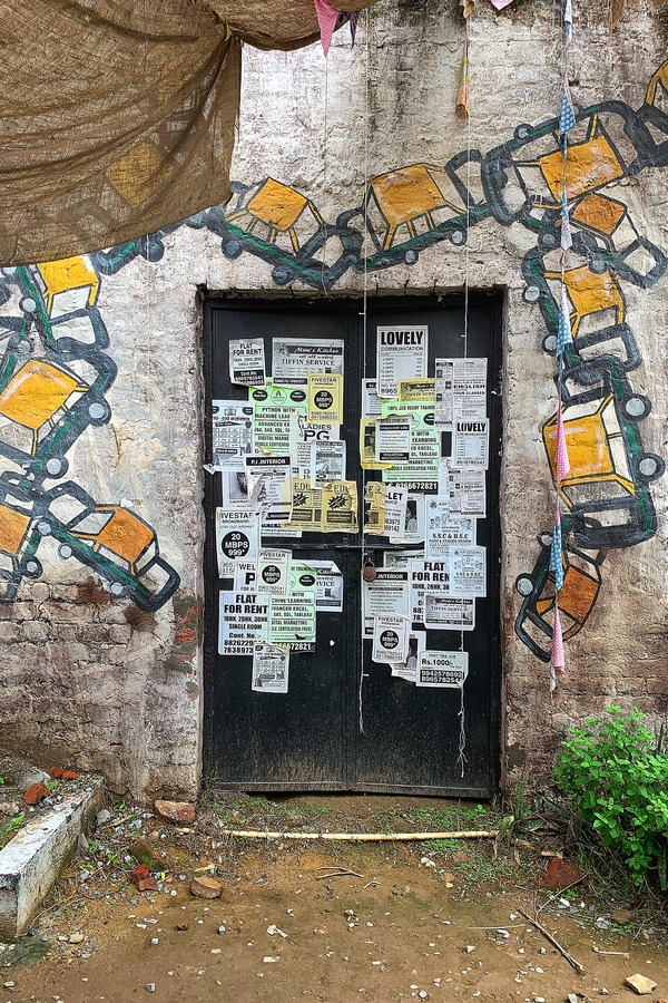 Post No Bills - Street Art in New Delhi