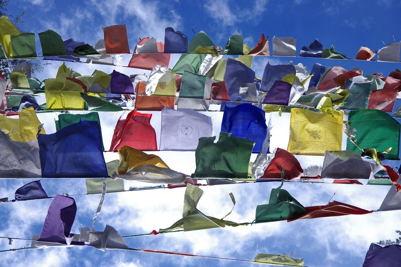 Prayer Flags in Dharamshala