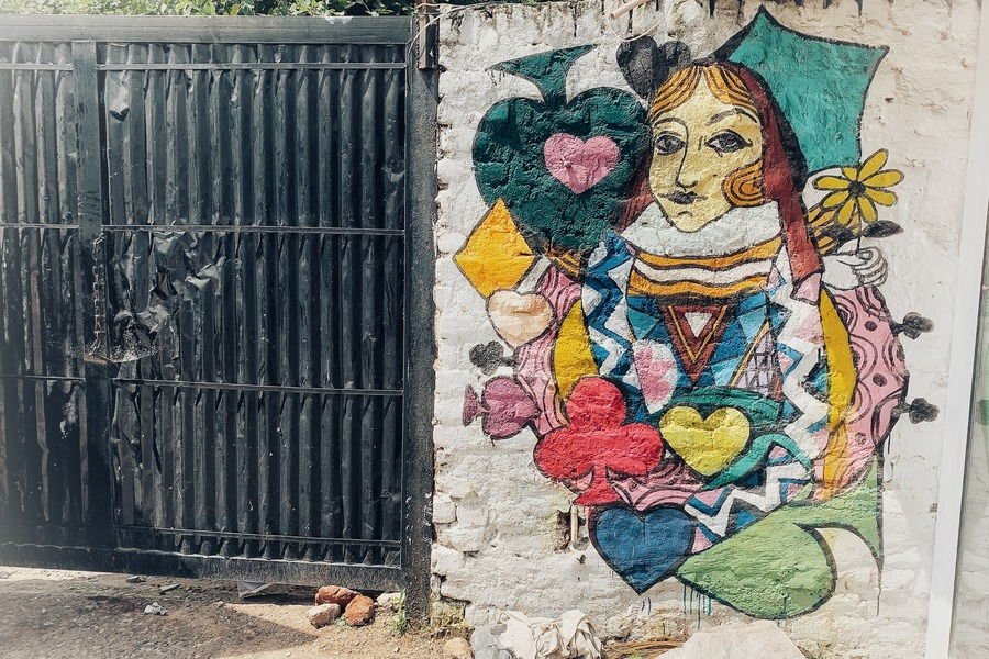 The Queen - Street Art in Delhi