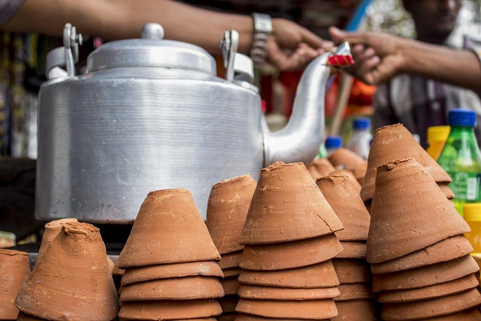 Indian tea stall