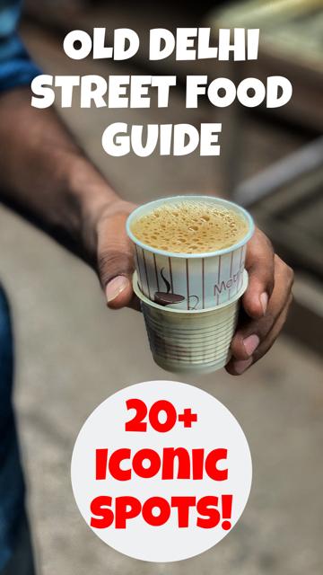Best Old Delhi Street Food Guide #Delhi #India #Food