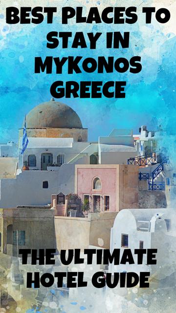 Best Places to Stay in Mykonos, Greece #Travel #Hotel #Greece #Mykonos