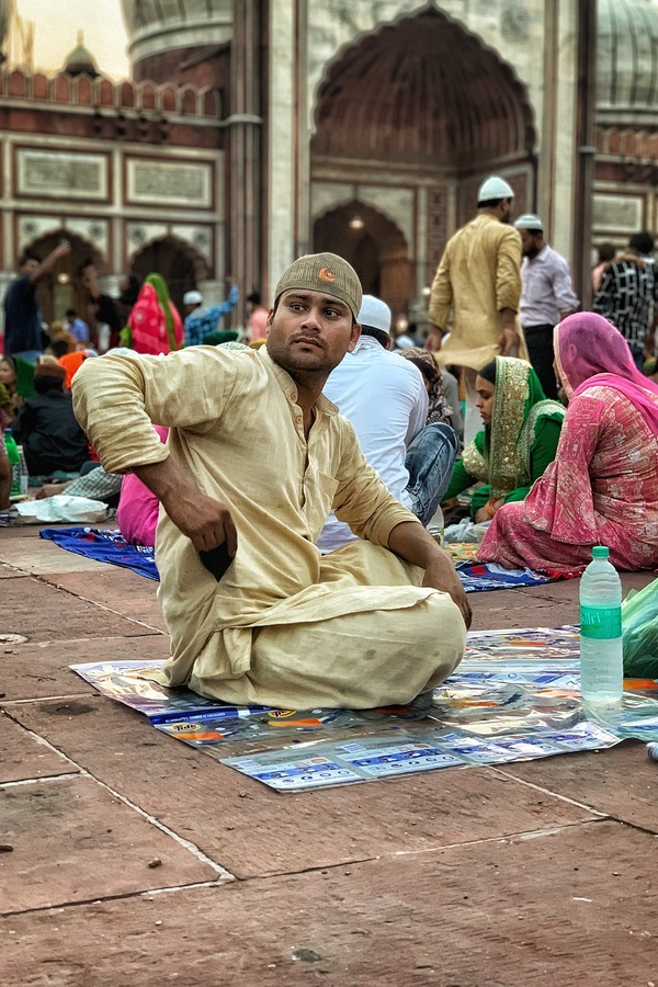 Jama Masjid - Iftar