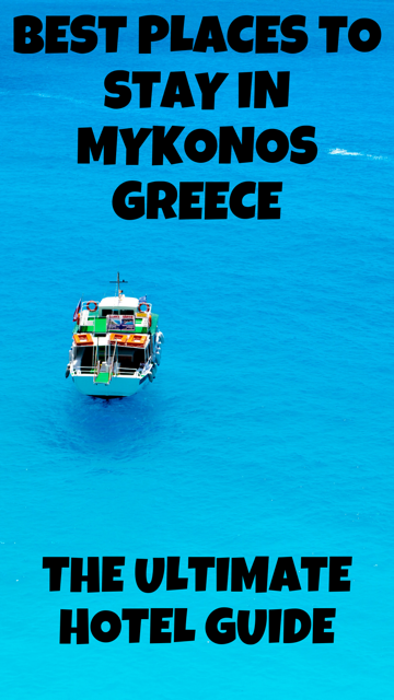 Mykonos Hotel Guide - Best Places to Stay for Every Budget #Travel #Hotel #Greece #Mykonos