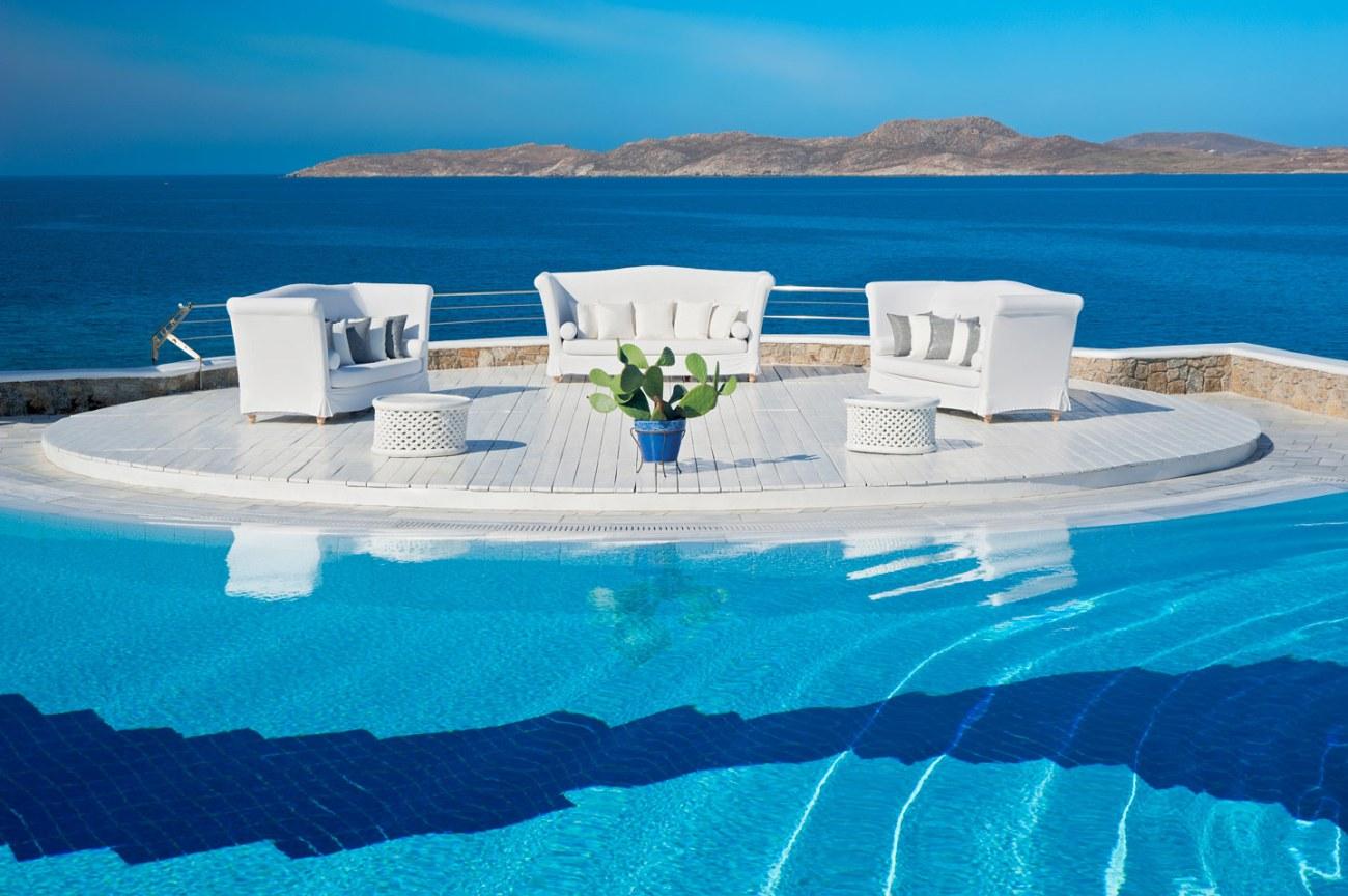 Pool View ay Mykonos Grand