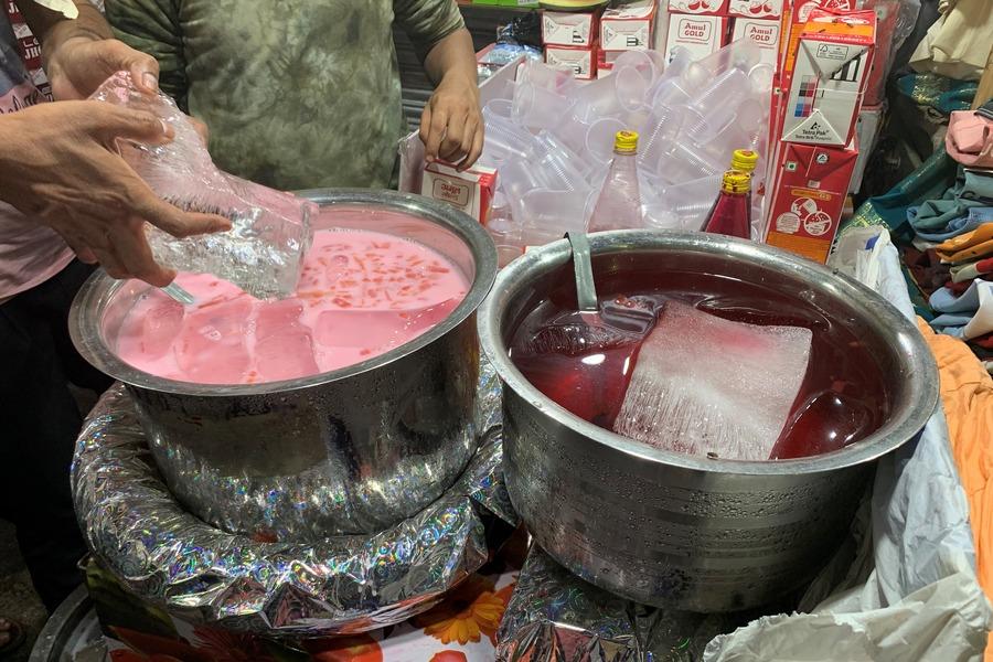 Roohafza Milk