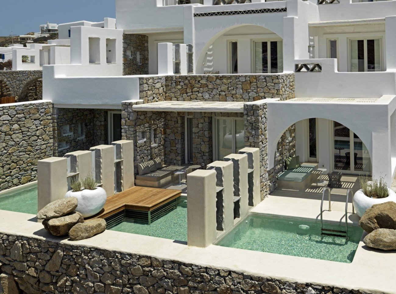 Rooms with Private Pools at Kensho Mykonos