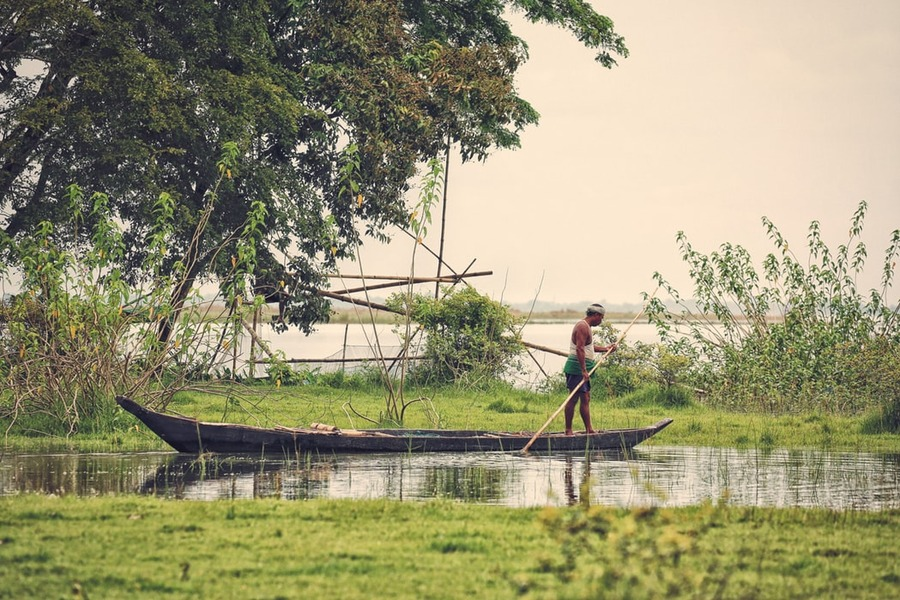 Bhramaputra River - Unsplash