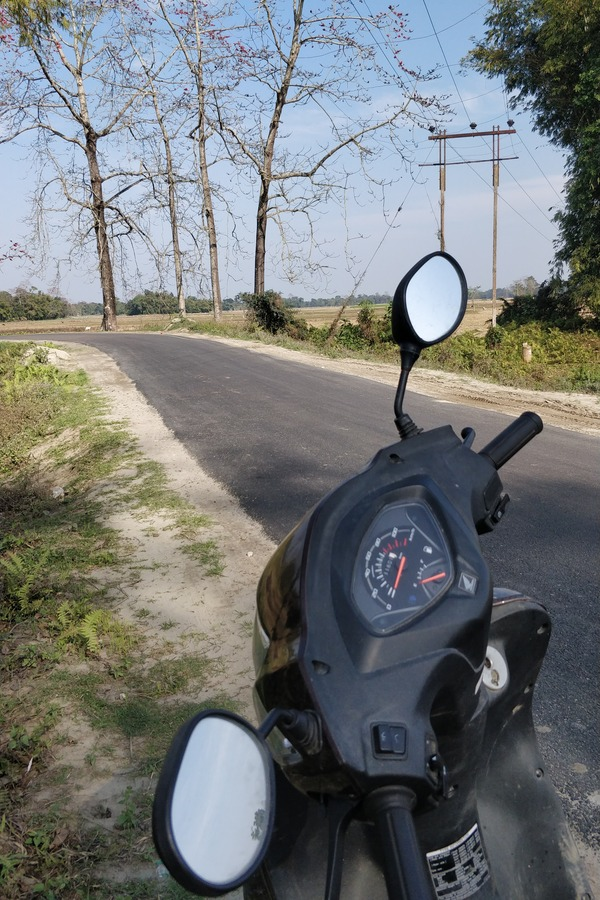 Majuli River Island Roads