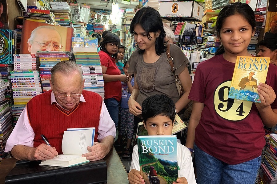 Book Signing - Ruskin Bond