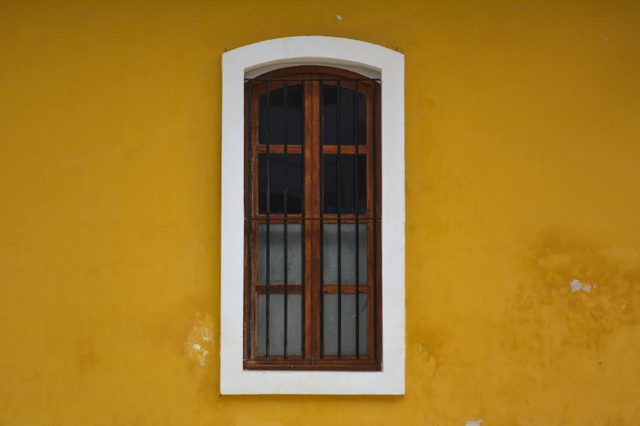 French Window, Pondicherry, India