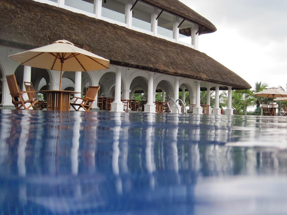 Hotel Pool at Pondy