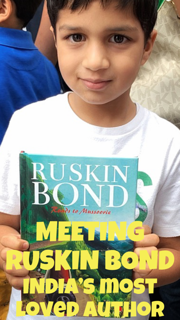 Meeting India's Most Loved Author - Ruskin Bond