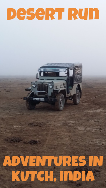 Desert Run - Adventures in Kutch, India #Travel #Gujarat